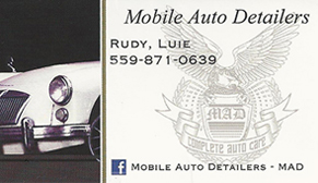 Mobile Auto Detailers - Madera Ca