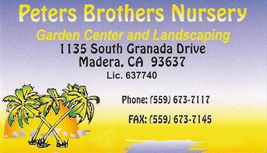 Peters Brothers Nursery