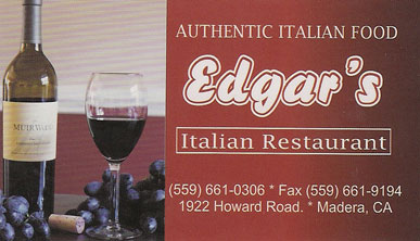 Edgar's Italian Restaurant