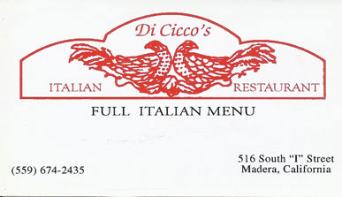 Diciccos Italian Restaurant