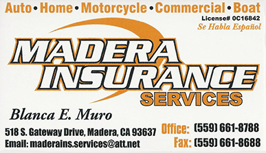 Madera Insurance Services