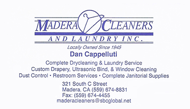 Madera Cleaners