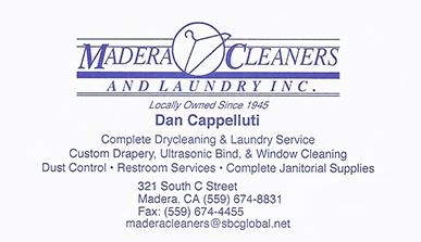 Madera Cleaners - Madera CA