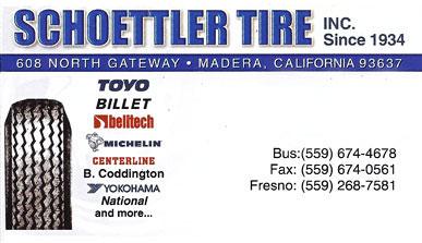 Schoettler Tire - Madera CA