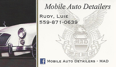 Mobile Auto Detailers