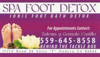 Spa Foot Detox