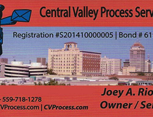 Central Valley Process Service