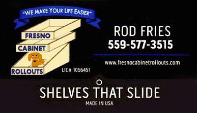 Fresno Cabinet Rollouts